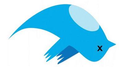 the blue twitter bird