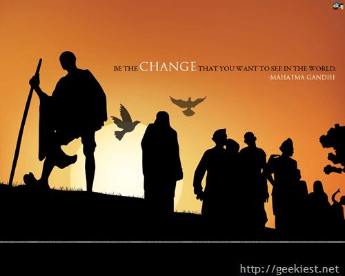 On Gandhi Jayanti this year