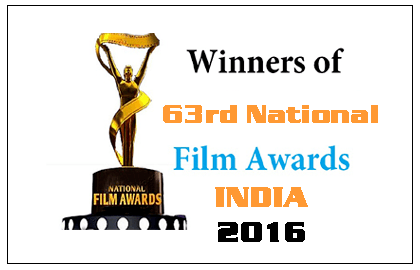 63rd National Award 2016