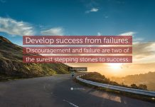 Failure is not a block but a stepping stone to success