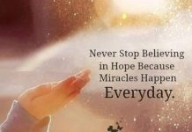 Miracles That Happen Everyday